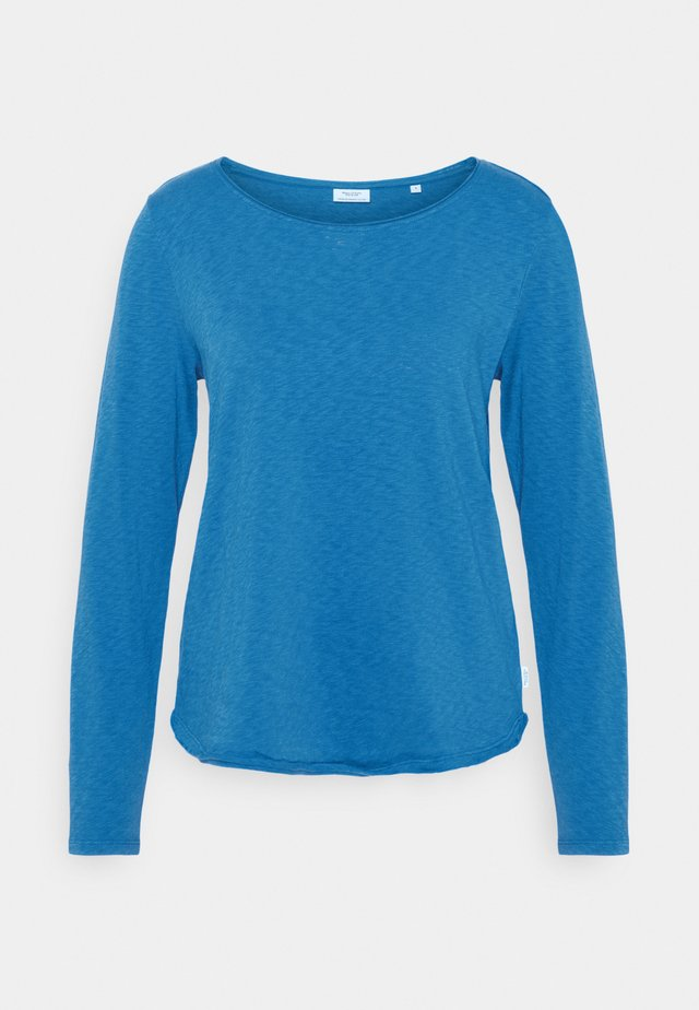 LONG SLEEVE CREW NECK - Langærmede T-shirts - cornflower