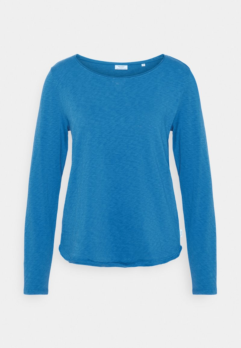Marc O'Polo DENIM - LONG SLEEVE CREW NECK - Long sleeved top - cornflower