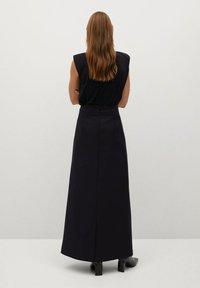 Mango - COFI7-A - A-line skirt - zwart - 2