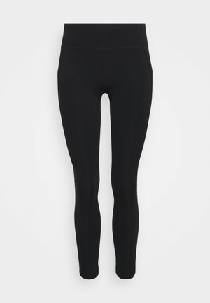 CONTOUR WORKOUT LEGGINGS - Punčochy - black