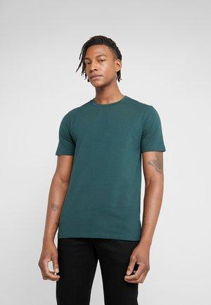 TEE - Basic T-shirt - fern melange