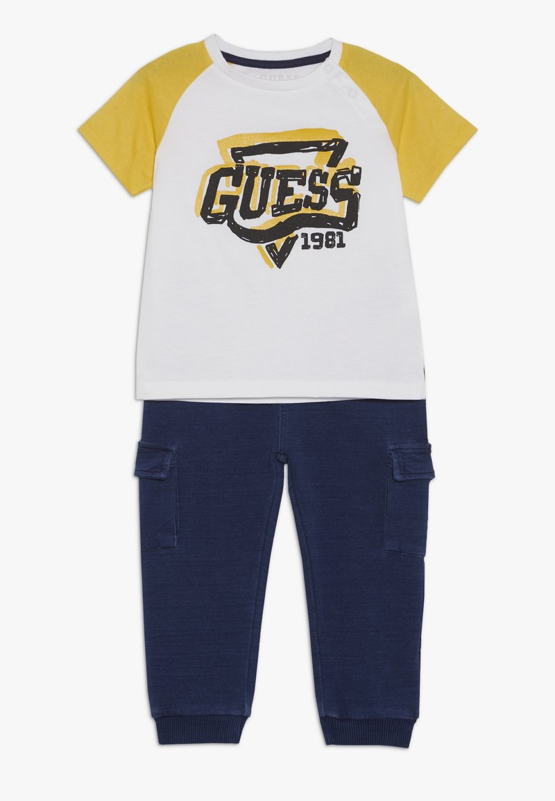Guess - PANTS BABY SET - Trousers - true white