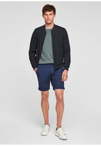 s.Oliver - BERMUDES - Shorts - blue - 6