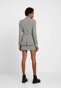Fashion Union - BAKER - Blazer - black/white - 0
