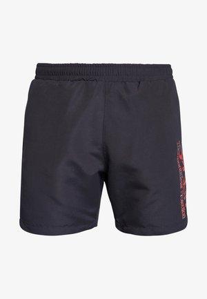 TARTAN LOGO - Shorts - blackout