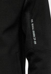 G-Star - MOTO TRACK - Zip-up hoodie - dk black - 2