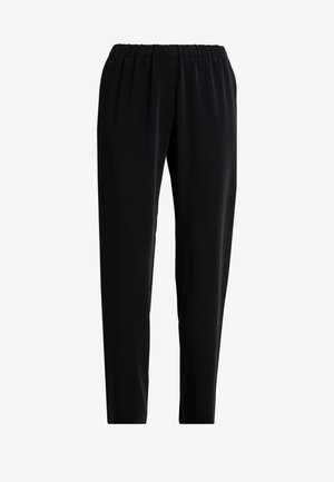 HOYS STRAIGHT PANTS - Pantaloni - black