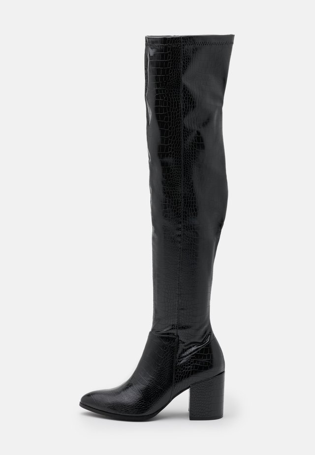 JACEY - Over-the-knee boots - black