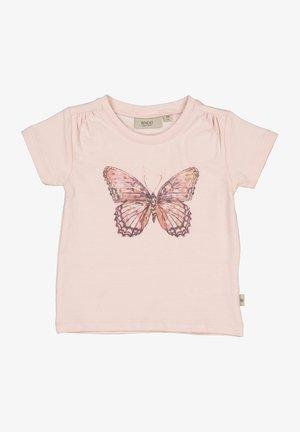 BUTTERFLY - T-shirt print - powder