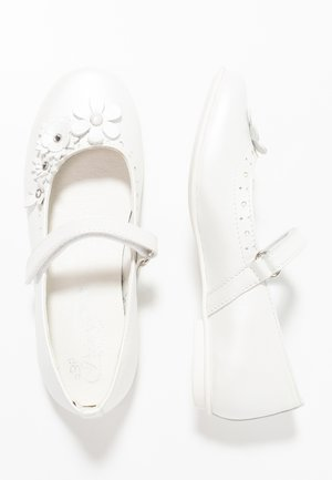 Bailarinas con hebilla - bianco