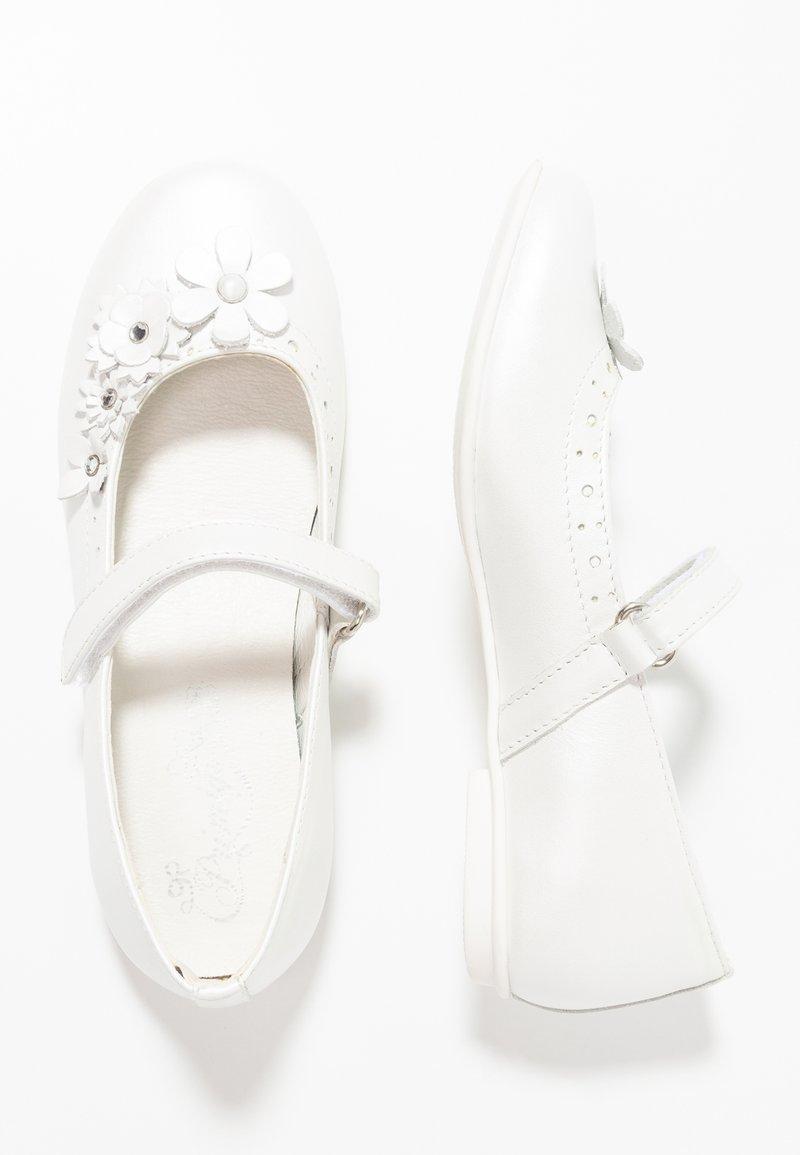 Primigi - Ankle strap ballet pumps - bianco