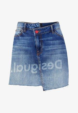 FAL - Wrap skirt - blue