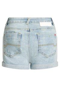 WE Fashion - Denim shorts - blue - 4