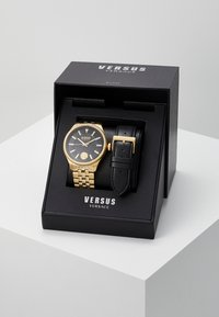 Versus Versace - COLONNE GIFT SET - Horloge - gold-coloured/black
