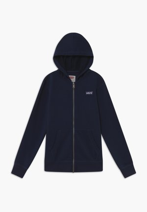 ZIP UP HOODIE - Huvtröja med dragkedja - dark blue