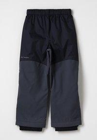 Vaude - ESCAPE PANTS - Outdoor trousers - black uni - 0
