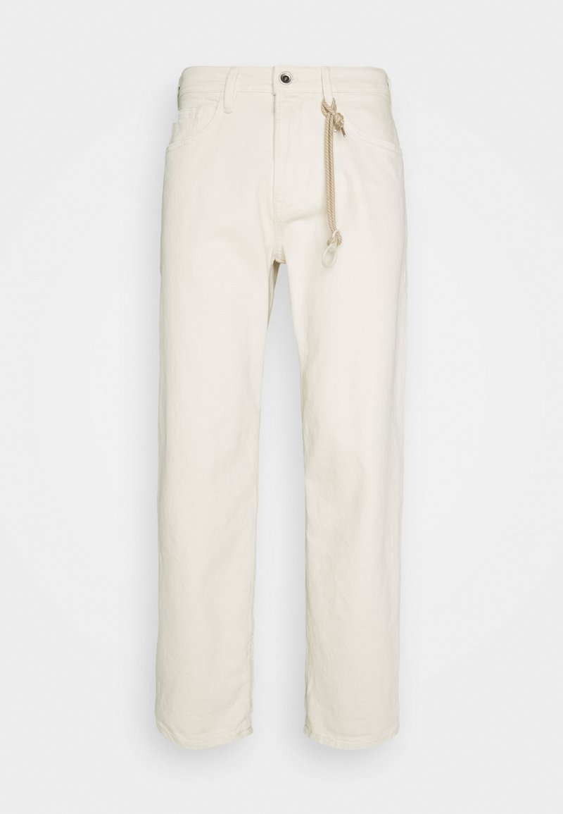TOM TAILOR DENIM - Trousers - unbleached natural denim
