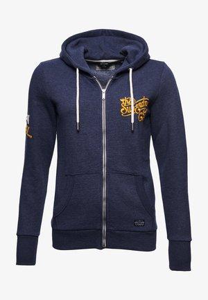Zip-up hoodie - princedom blue marl
