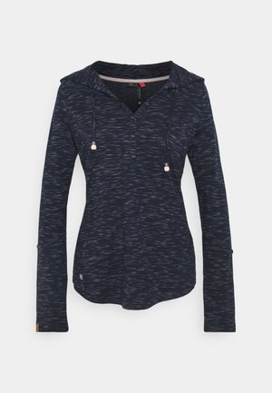 DROP - Topper langermet - navy
