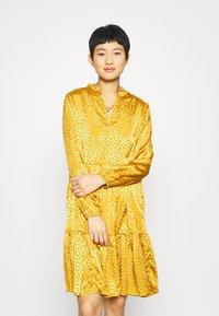 Saint Tropez - DENORA EDA DRESS - Day dress - bronze brown - 0