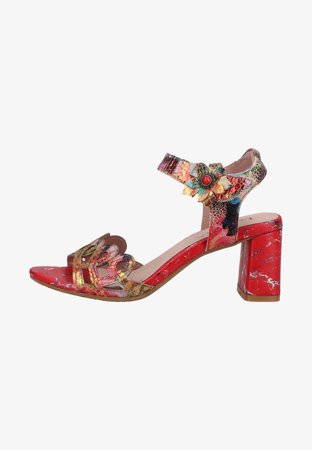 Sandalen - rouge