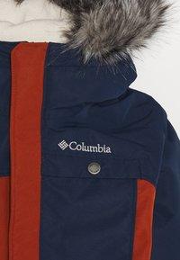 Columbia - NORDIC STRIDER JACKET - Outdoor jacket - dark adobe/collegiate navy - 4