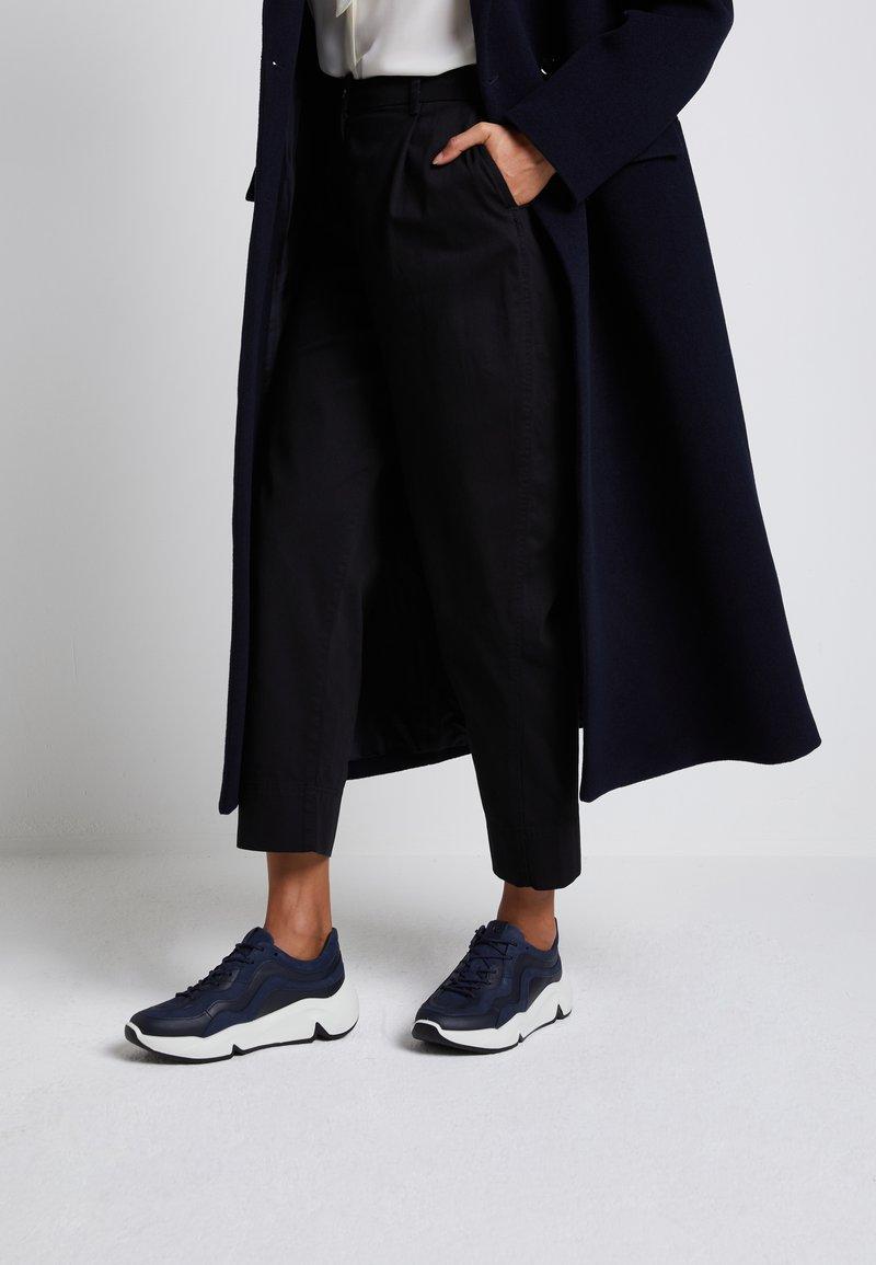 ECCO - CHUNKY  - Sneakersy niskie - blue
