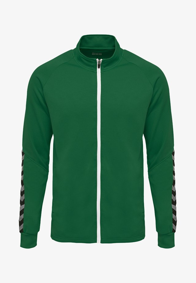 HMLAUTHENTIC - Training jacket - evergreen