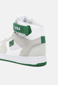 DC Shoes - PENSFORD - High-top trainers - white/grey/green - 4