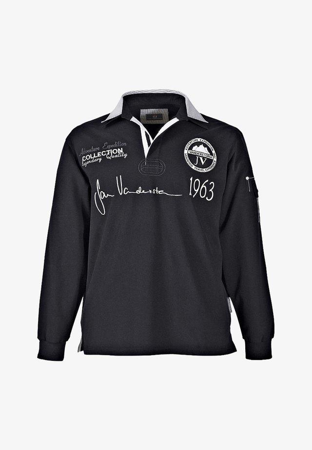 JELLE - Polo shirt - black