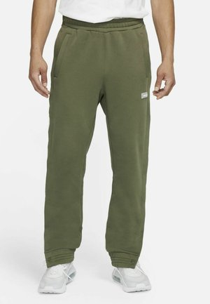FC PANT - Tracksuit bottoms - medium olive/clear