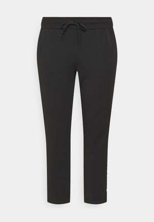 ONPNYLAH PANTS CURVY - Tracksuit bottoms - black/white