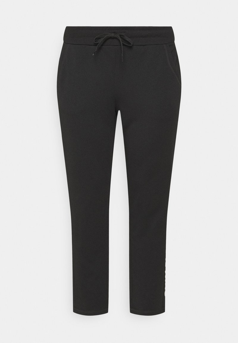 ONLY Play - ONPNYLAH PANTS CURVY - Tracksuit bottoms - black/white