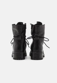 Zign - Zimní obuv - black - 3