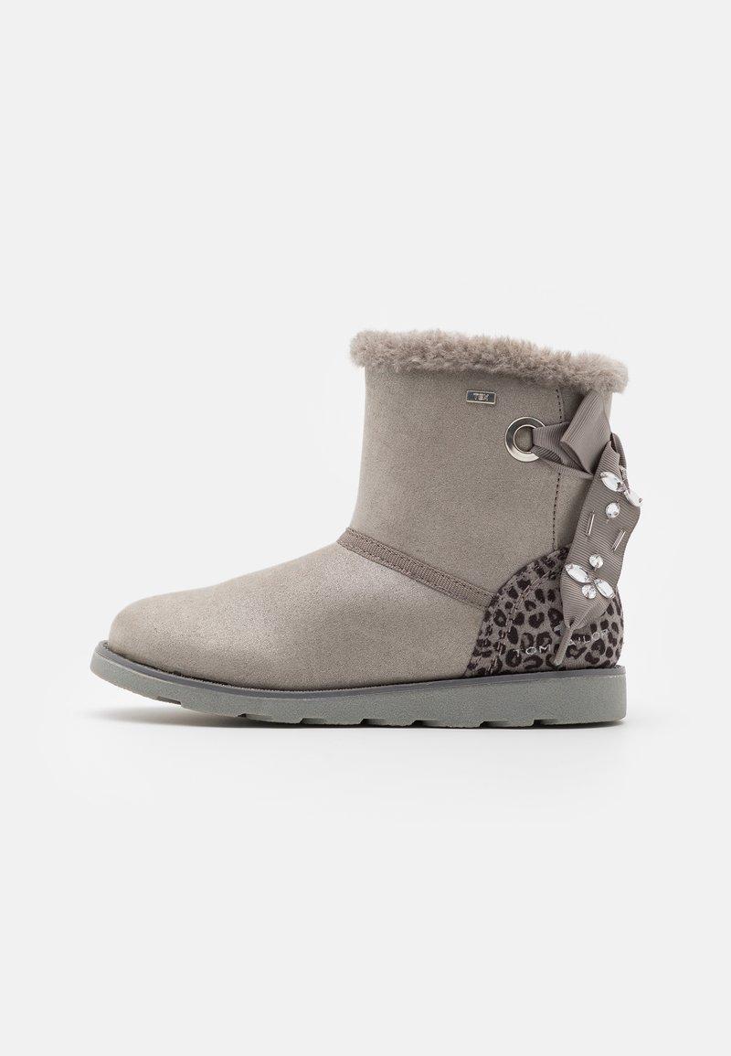 TOM TAILOR - Kotníkové boty - grey