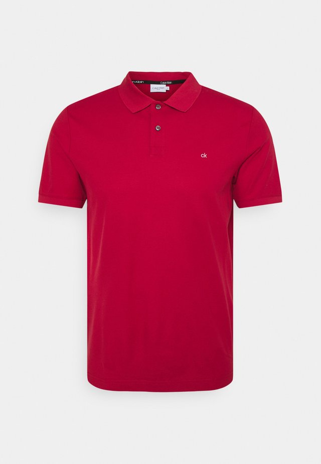 REFINED LOGO SLIM FIT - Polo shirt - red