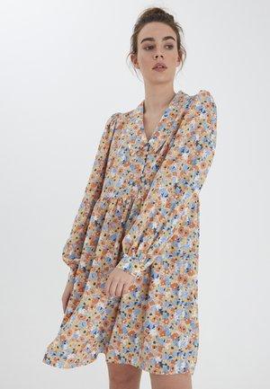 Shirt dress - coronet blue multi color