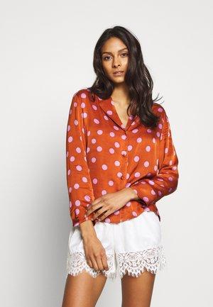 BLUEMOON - Pyjama top - brown/pink