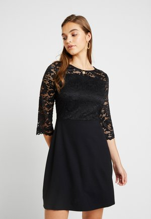 VMSILLE 3/4 SHORT DRESS - Jersey dress - black
