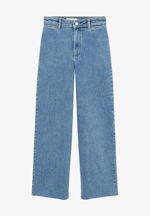 CATHERIN - Flared Jeans - middenblauw