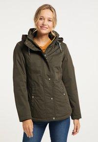 Schmuddelwedda - Winter jacket - oliv - 0