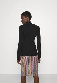M Missoni - MOCK NECK - Long sleeved top - black beauty - 2