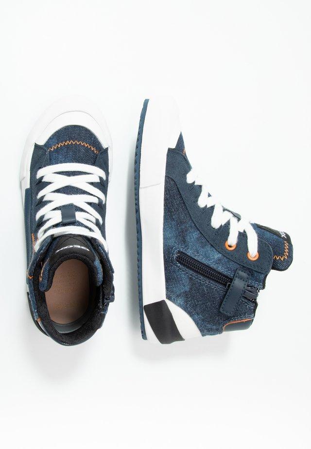 ALONISSO BOY - High-top trainers - blue/orange