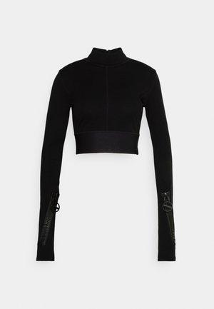 T BORDOP - Long sleeved top - black