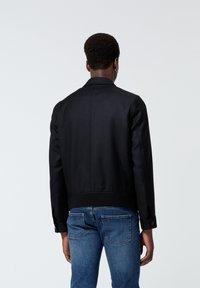 The Kooples - EN LAINE BOUTONNÉ À COL CRANTÉ - Light jacket - black - 3