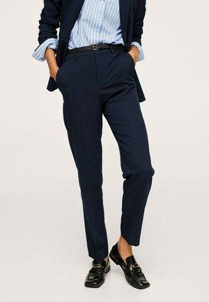 Chino kalhoty - bleu marine foncé