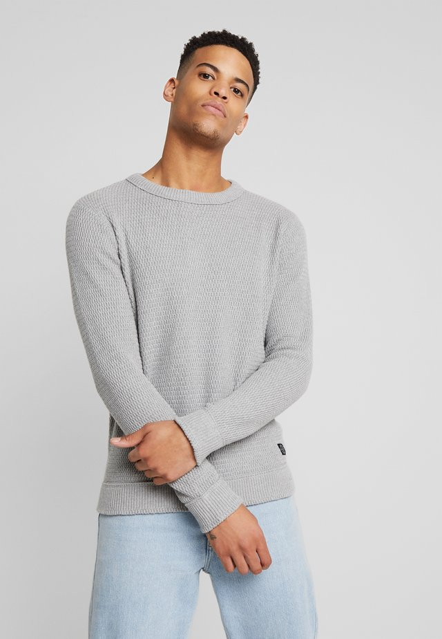 O NECK  - Strickpullover - grey