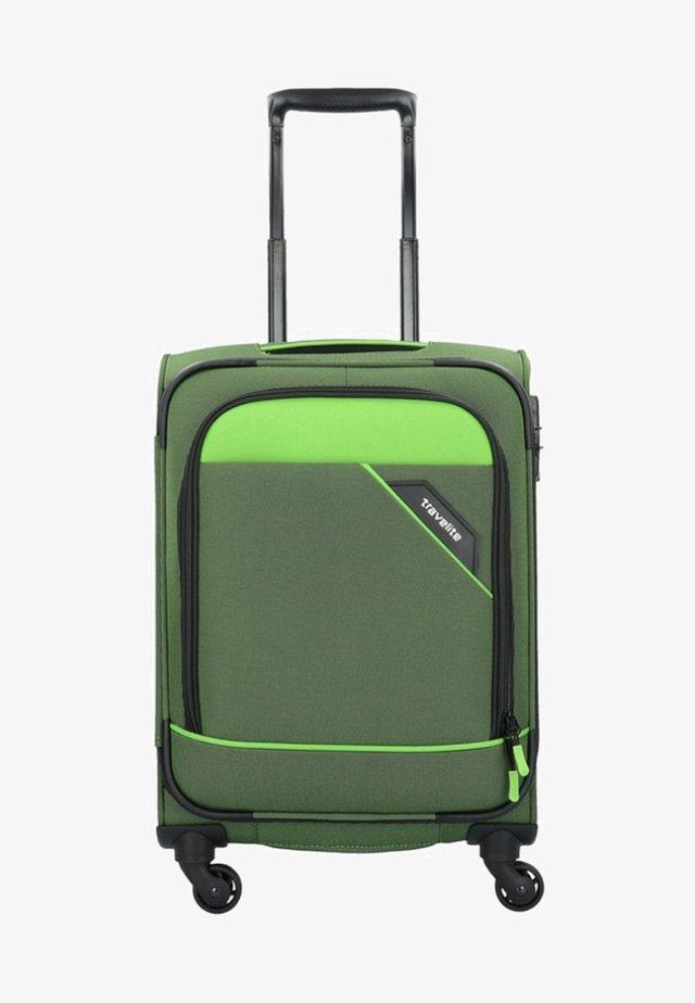 DERBY ROLLEN - Wheeled suitcase - green