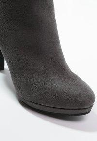 Buffalo - High heeled ankle boots - grey - 5