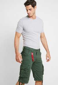 Alpha Industries - JET - Cargo trousers - dark petrol - 4